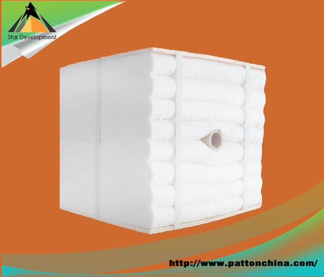 1260c Ceramic Fiber Thermal Insulation Folded Module for Kiln and Furnace
