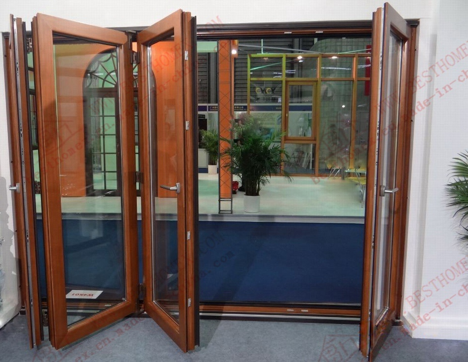 High-Class Aluminium Bi-Folding Door (BHA-DBF02)