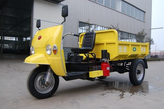 Dump Electric 3 Wheeler