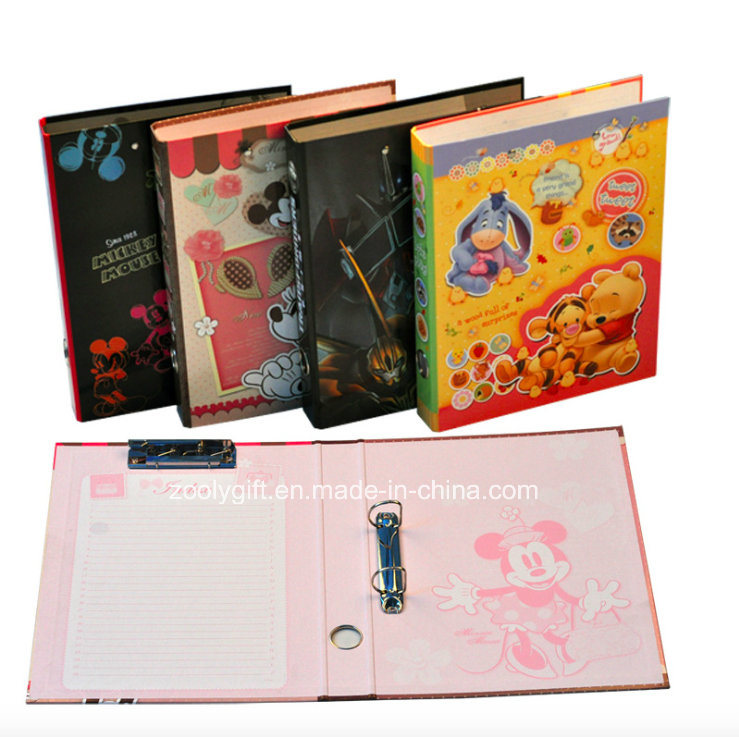 Custom Printing Paper Ring Binder Lever Arch File Clip File