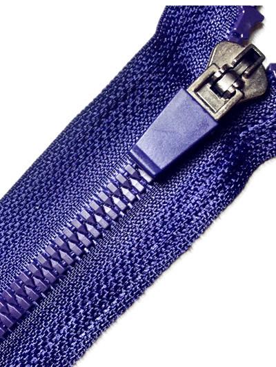 Resin Material Plastic Zipper Open End with Semi-Lock Slider