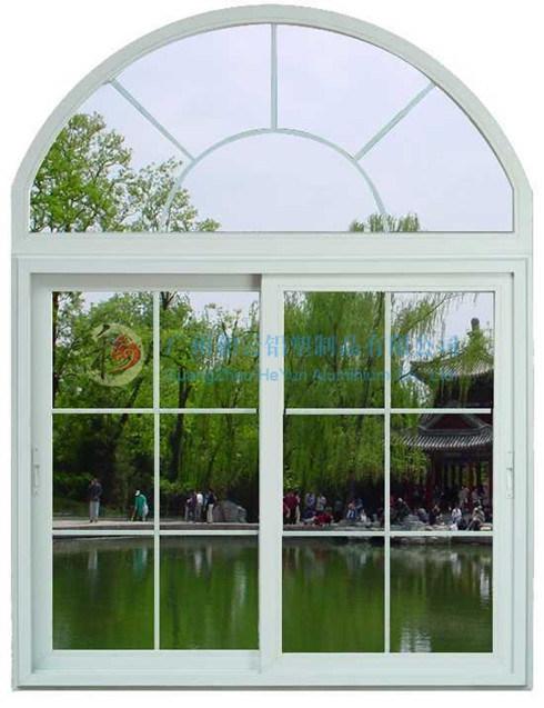 Fixed Arch Windows : China pvc sliding window arch fixed panel