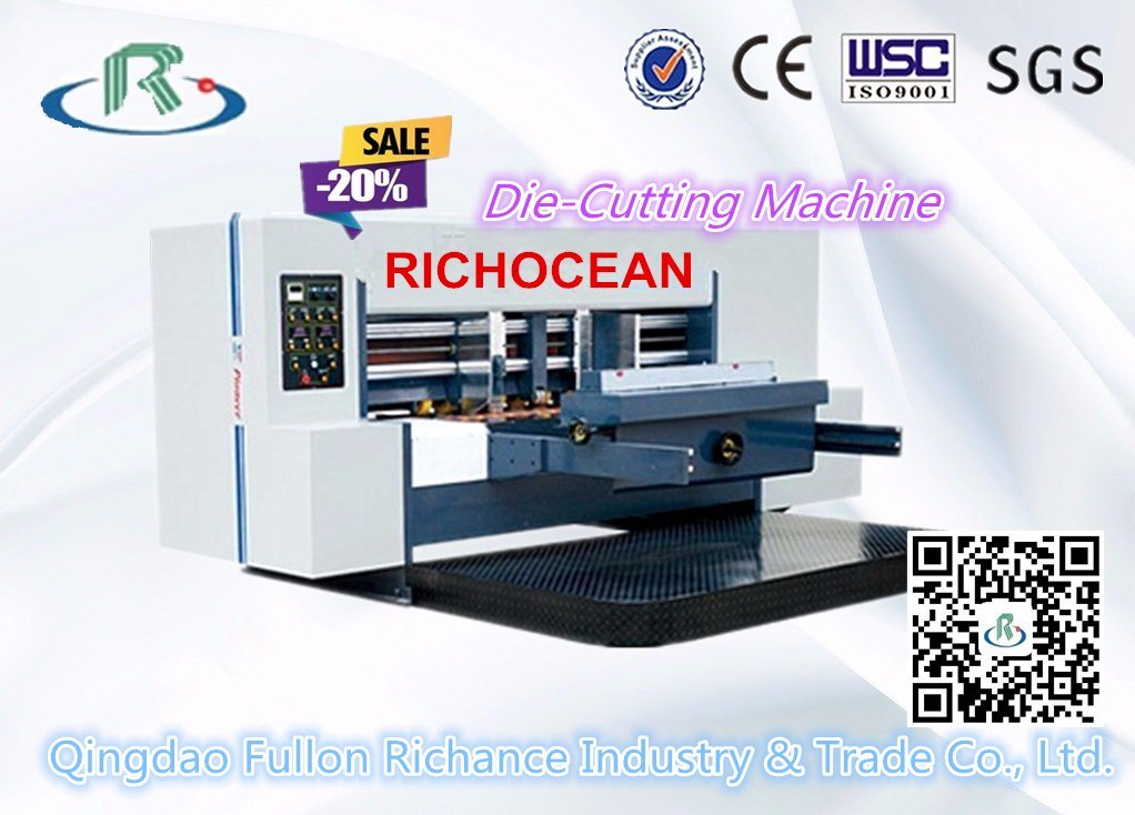 Qm1200 Series Lead Edge Feeder Rotary Die Cutter