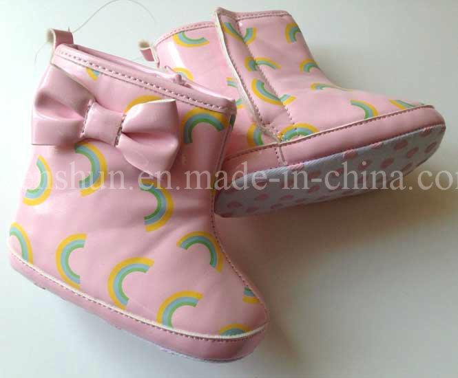 Fashion Rain Boots for Babies Girls 2301