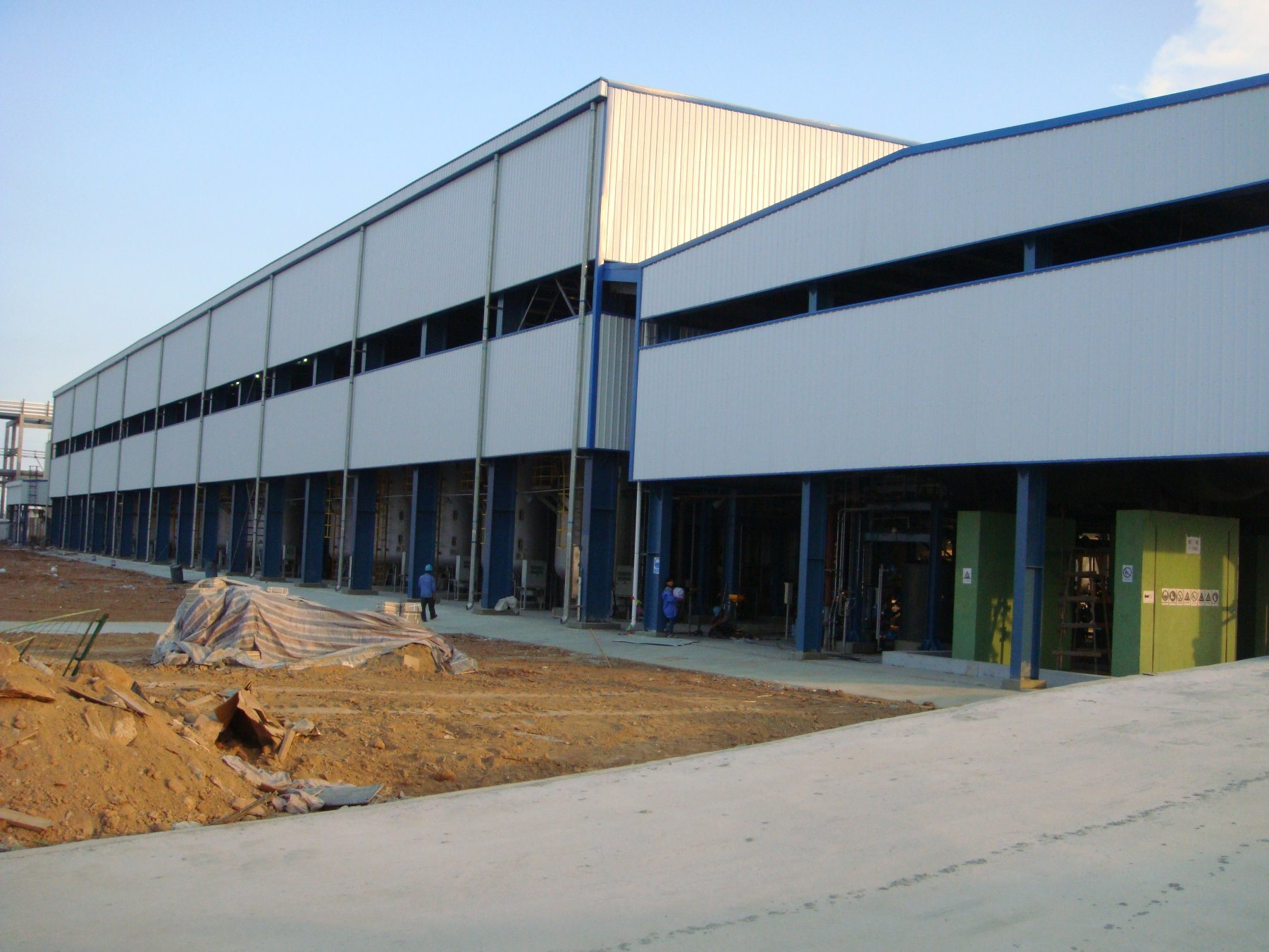 High Technical Standard Steel Structure Workshop /Steel Structure Warehouse/Container House