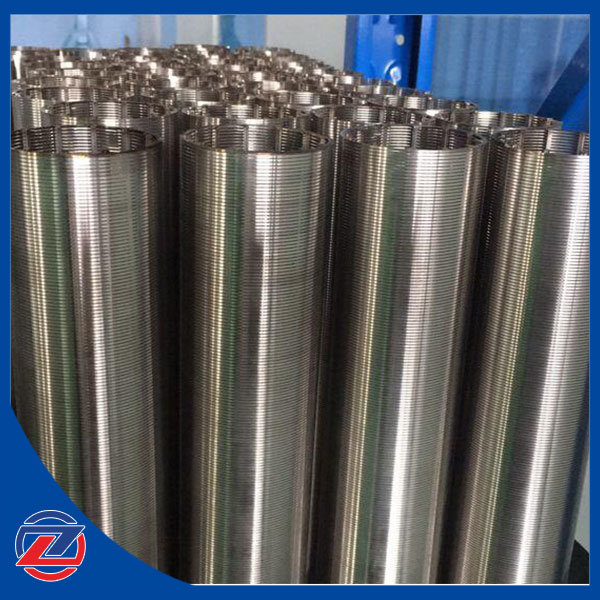 Stainless Steel Johnson Wedge Wire Screen Filter Tube