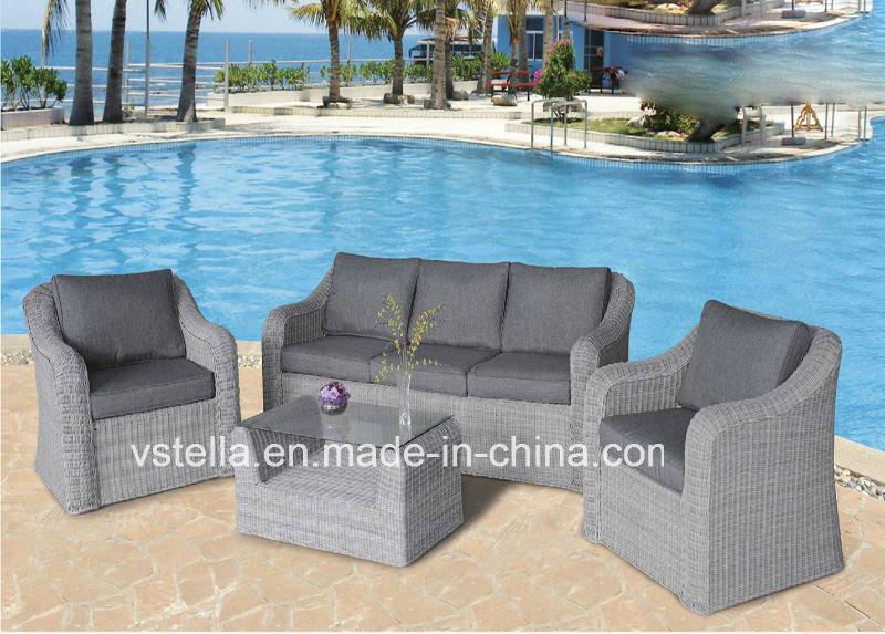 Outdoor Garden Sectional PE Wicker Rattan Furniture