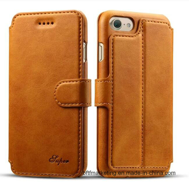Premium Leather Wallet Mobile Cell Phone Case for iPhone 8/8plus/7/7plus