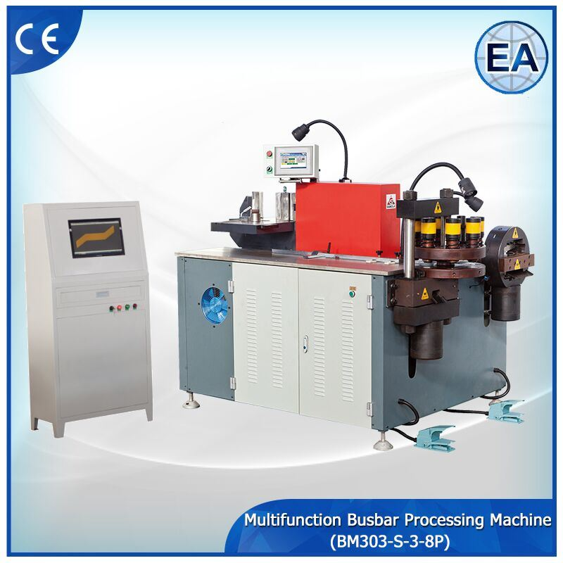Busbar Turret Processing Machine Bm303-S-3-8p