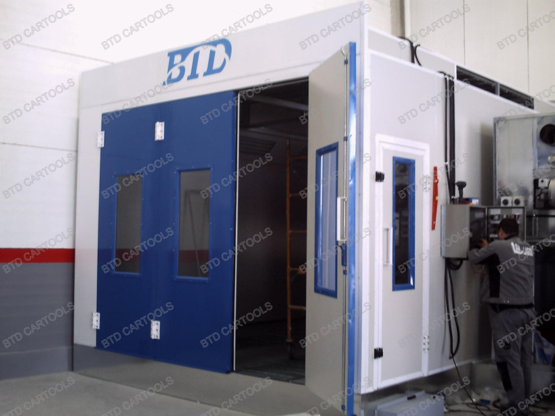 environmental spray paint drying oven ce german technology photos. Black Bedroom Furniture Sets. Home Design Ideas