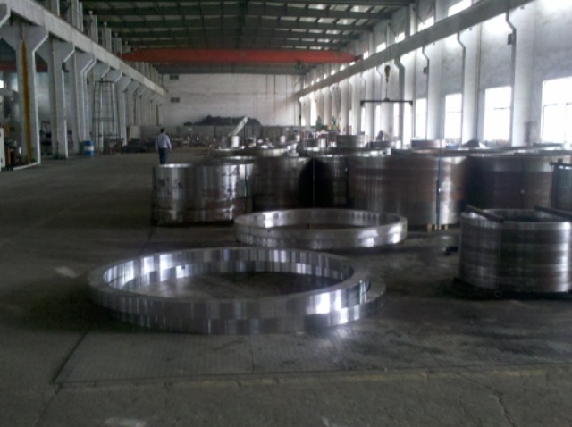 Ring Forgings , Hot Rolled Rings, 42CrMo4 A105