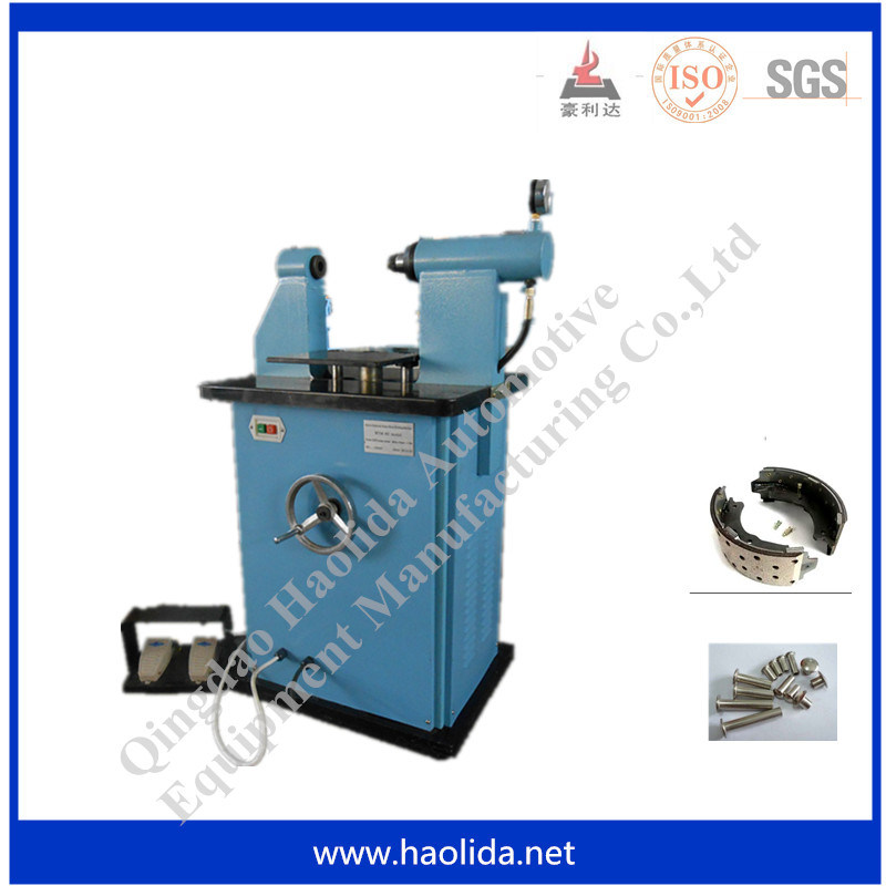 Brake Rivet Press : China electric horizontal brake lining rivet machine