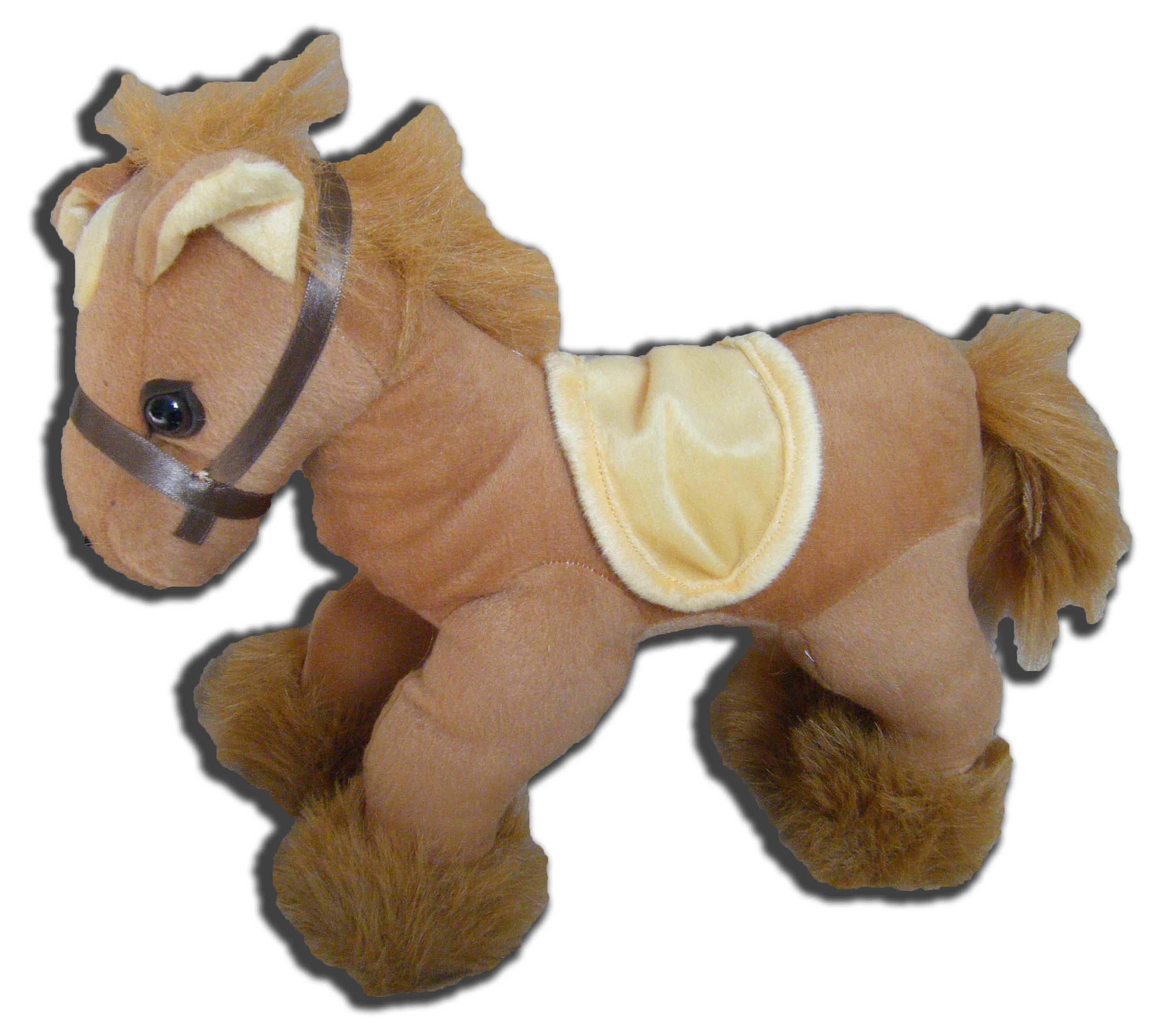Stuffed Horse Toy : China plush horse toy tx baby