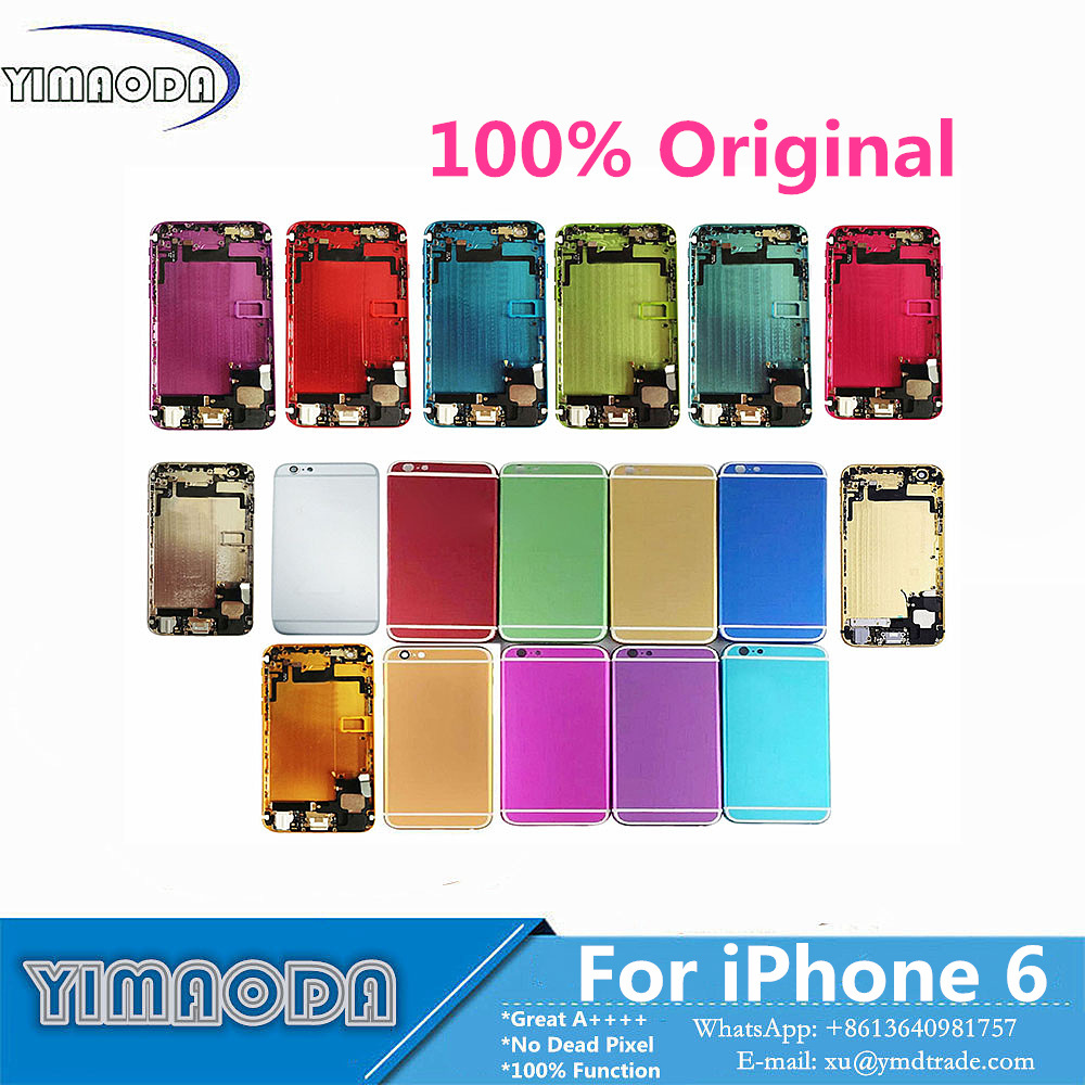 Mobile Phone Back Housing Cover for iPhone 6 Assembly