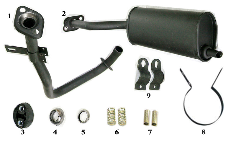 Spare Parts of Tricycle Handle Bar Components (SP-SP-02)