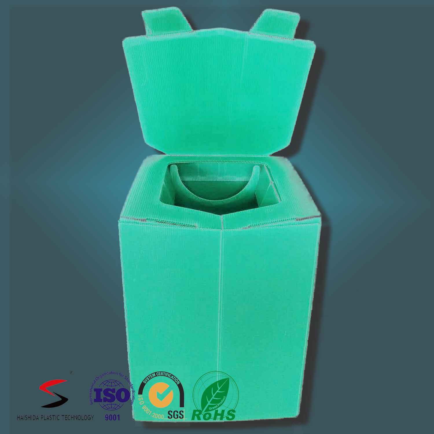 Corrugated Plastic Toilet Disaster Toy Simple Toilet Outdoor Toilet