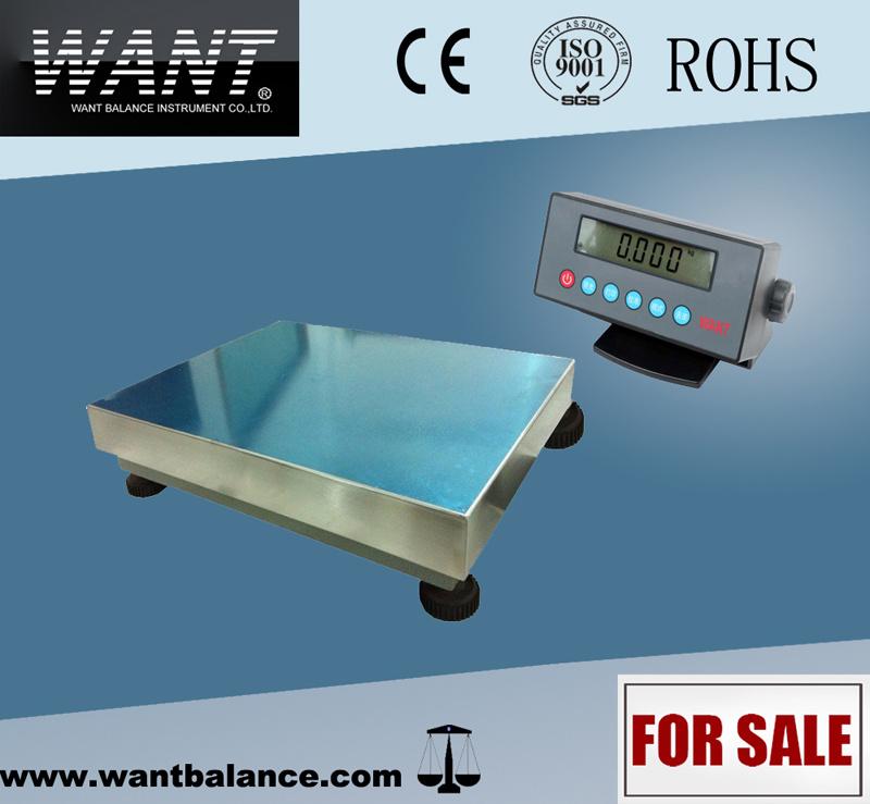 Platform Floor Scale 660lb 0.1lb