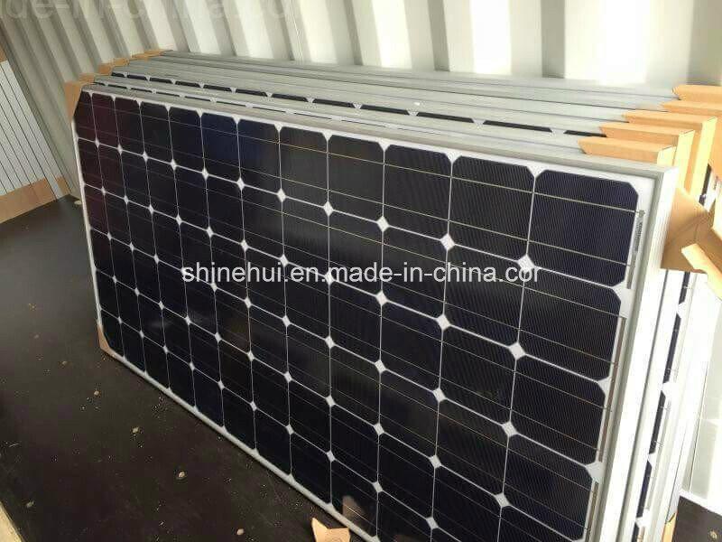 Monocrystalline Solar PV Cells Panel of 300watts with IEC Module