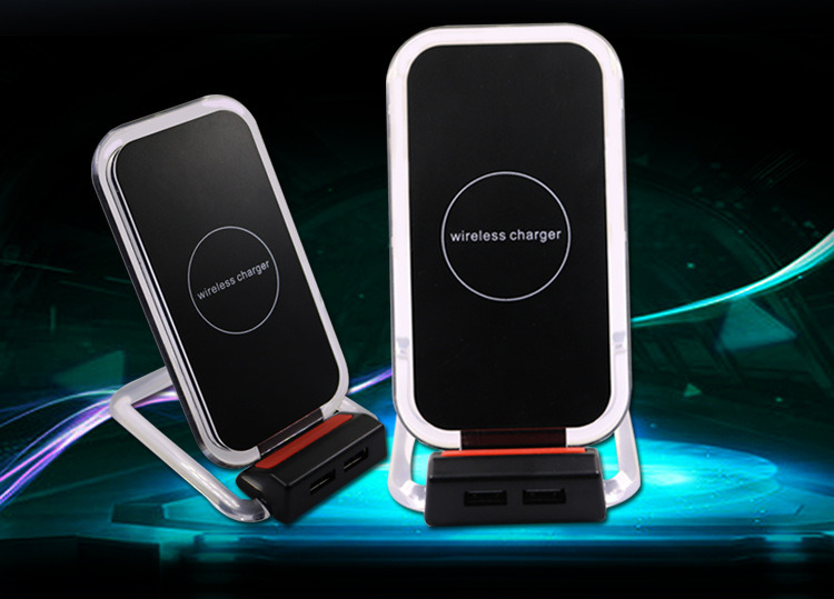 Wireless Charger for iPhone/Samsung/HTC Smartphone