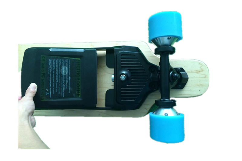 Four Wheel Electric Skateboard with Removable Samsung Battery