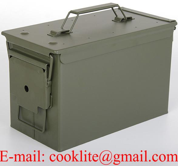 M2a1 50 Cal Metal Ammunition Can Ammo Box