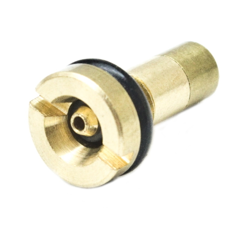 Brass Machined Gas Filling Valve, Brass Airsoft Fill Valve