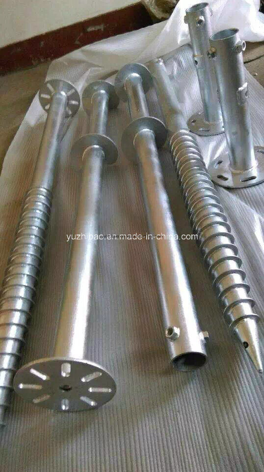 for House Building Used HDG Ground Screw