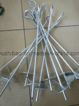 Hot DIP Galvanized Ground Screw Pole Anchor, Ground Screw, Ground Screw Pile Anchor