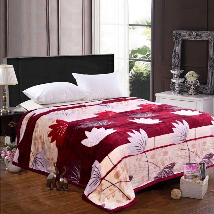 Super Soft Printed Flannel Blanket Sr-B170223-8 Printed Coral Fleece Blanket