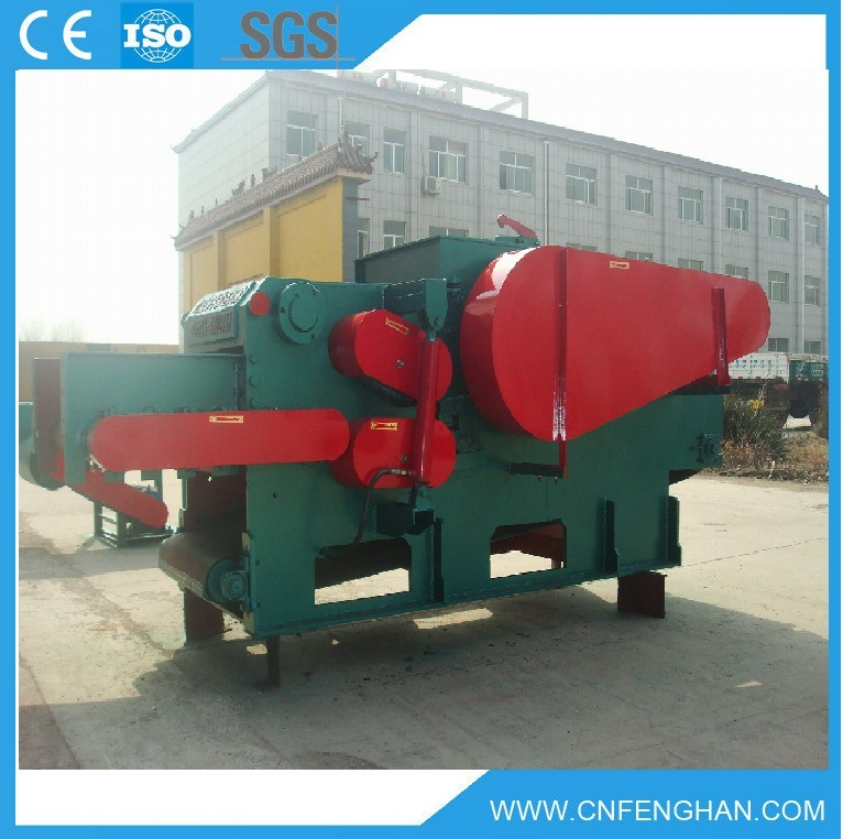 10-15 T/H Electric Wood Chipper / Drum Wood Chipper