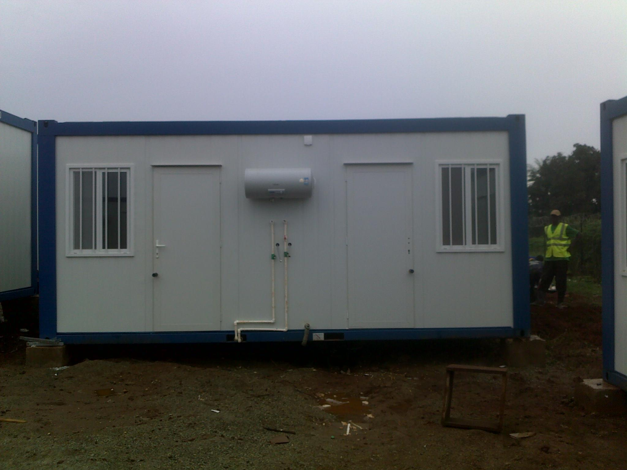 Container House for Labor Camp/Hotel/Office/Workers Accommodation/Apartment (SH101)