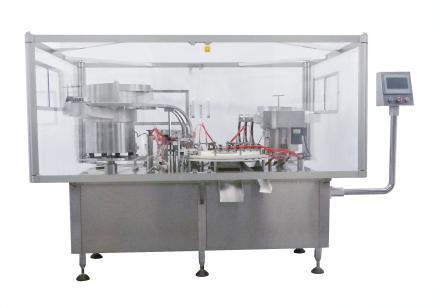 Rotary-Type Automatic Filling, Plugging, and Capping Machine (HG-60)