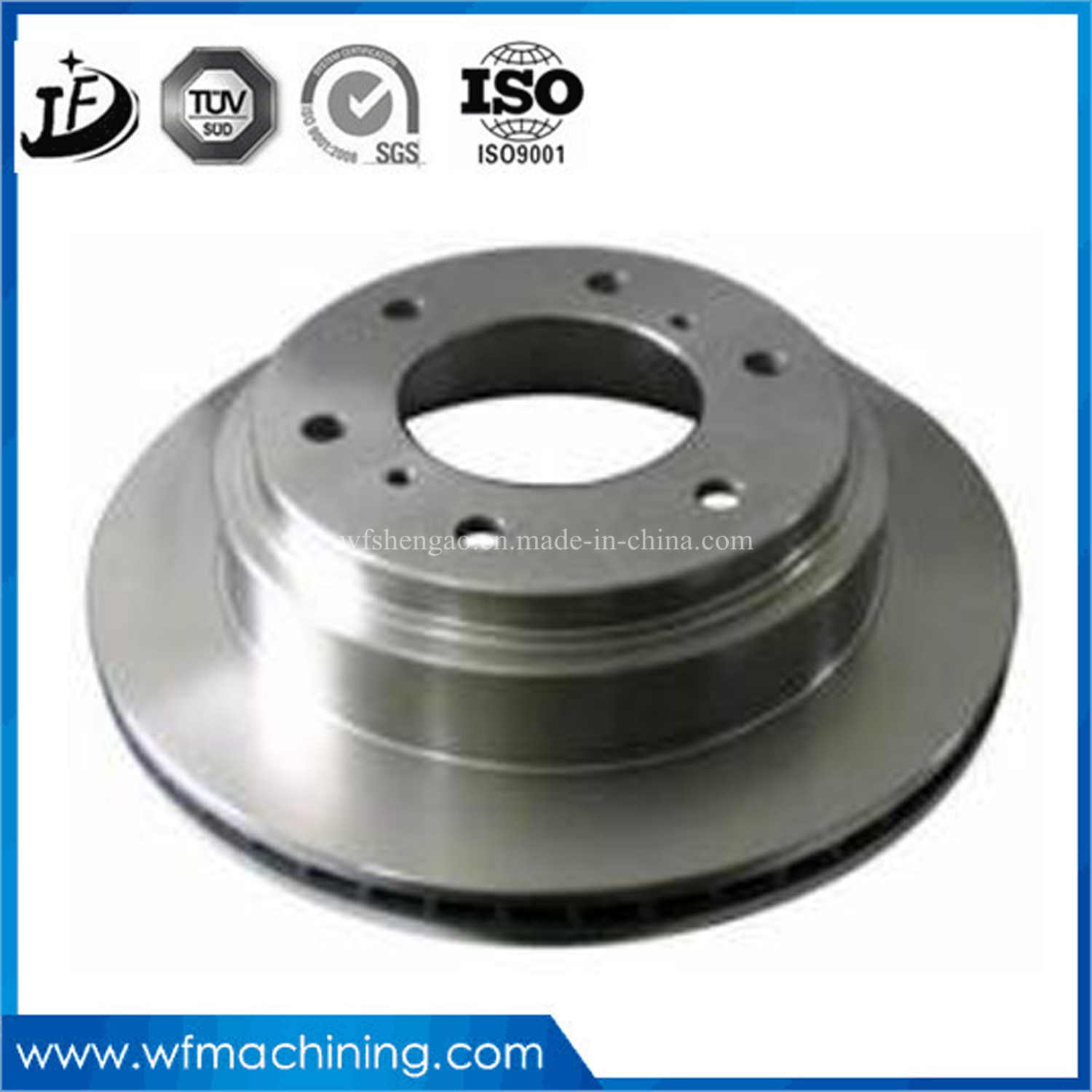 OEM Forged Steel/Stainless Steel/Aluminum Brake Discs with CNC Machining
