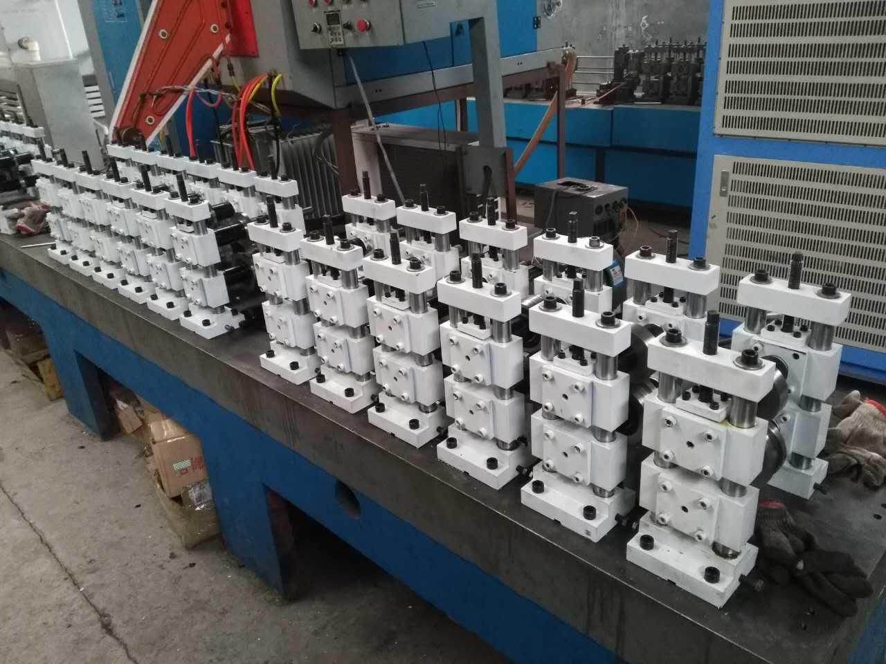 High Frequency Welding Aluminum Spacer Bar Equipment/Hollow Glass Aluminum Bar Production Line