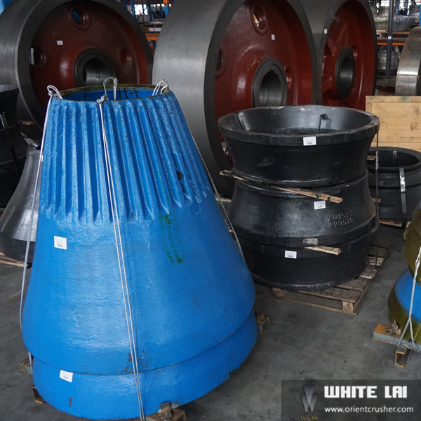 Cylinder Cone Crusher Parts Wear with Certificate