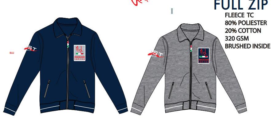 Men′s Full Zip Fashion Winter Fleece Jacket