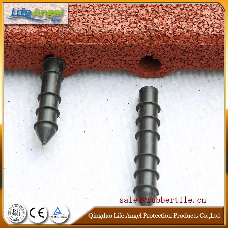 En1177 Certificated Safety Rubber Floor Tiles/Roof Deck Choise Rubber Floor