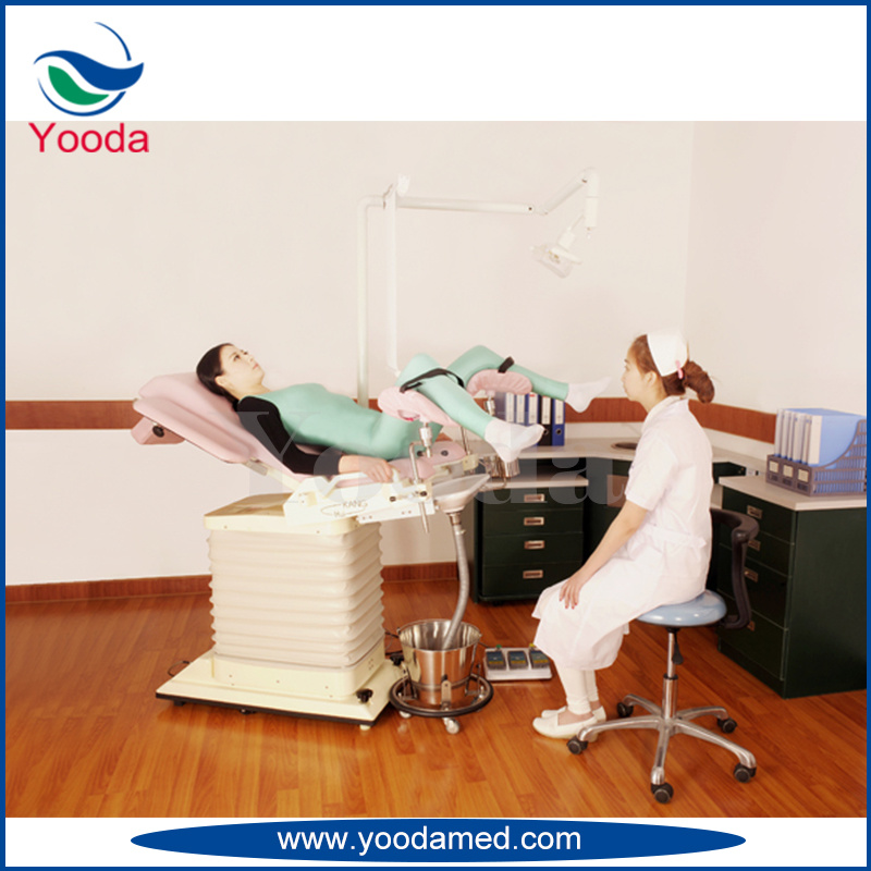 Hospital Electric Gynecology Operation Table