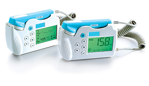Fetal Doppler Handheld Fetal Monitor, Ultrasound Maternal Fetal Monitor (SC-FHD01)