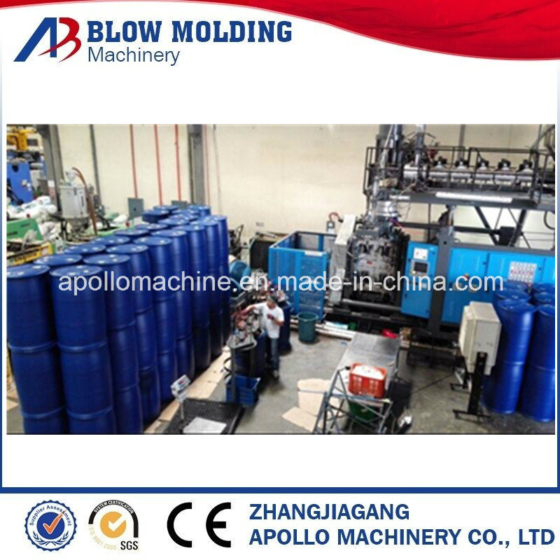 50L~160L HDPE Drums Jerry Cans Blow Molding Machine