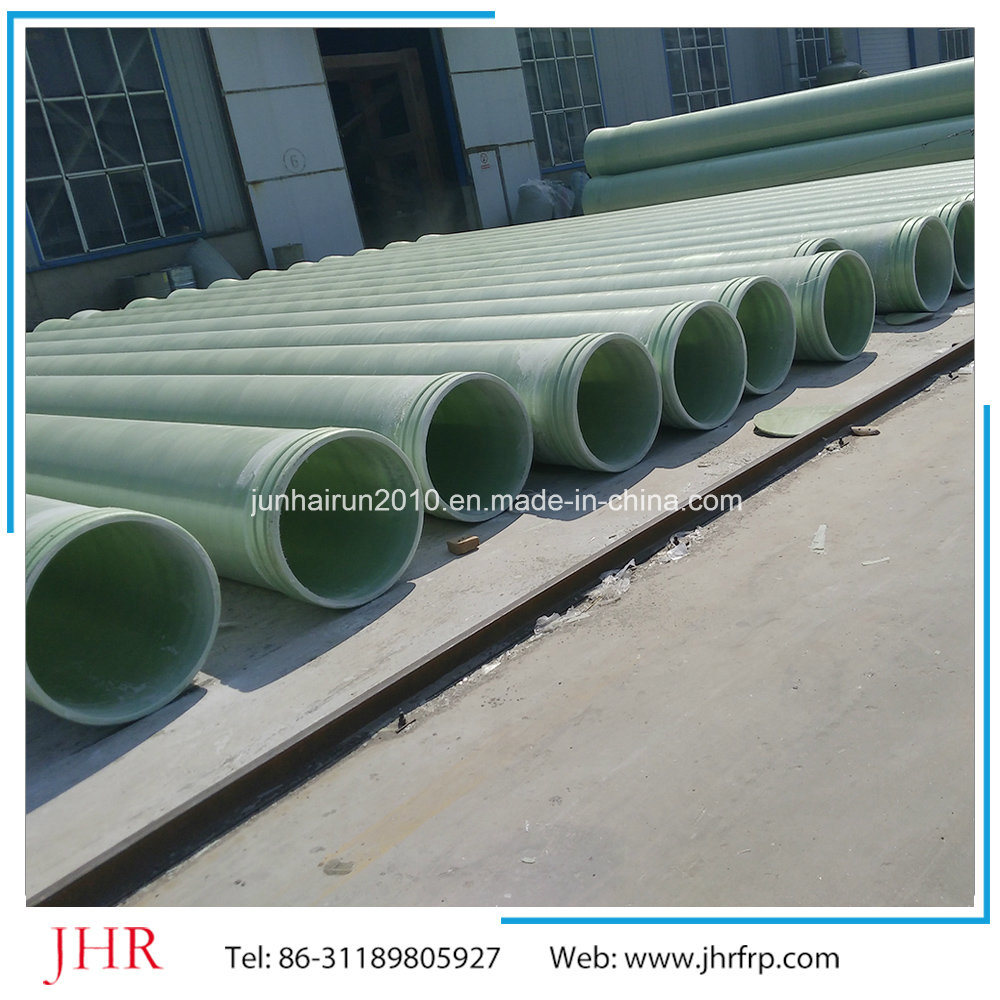FRP GRP Fiberglass Winding Hollow Pipe