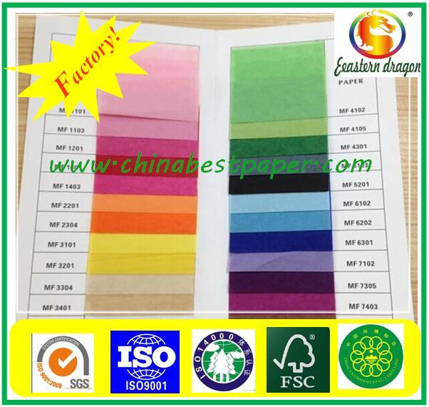 Colorful Kraft Paper For Shopping Bag