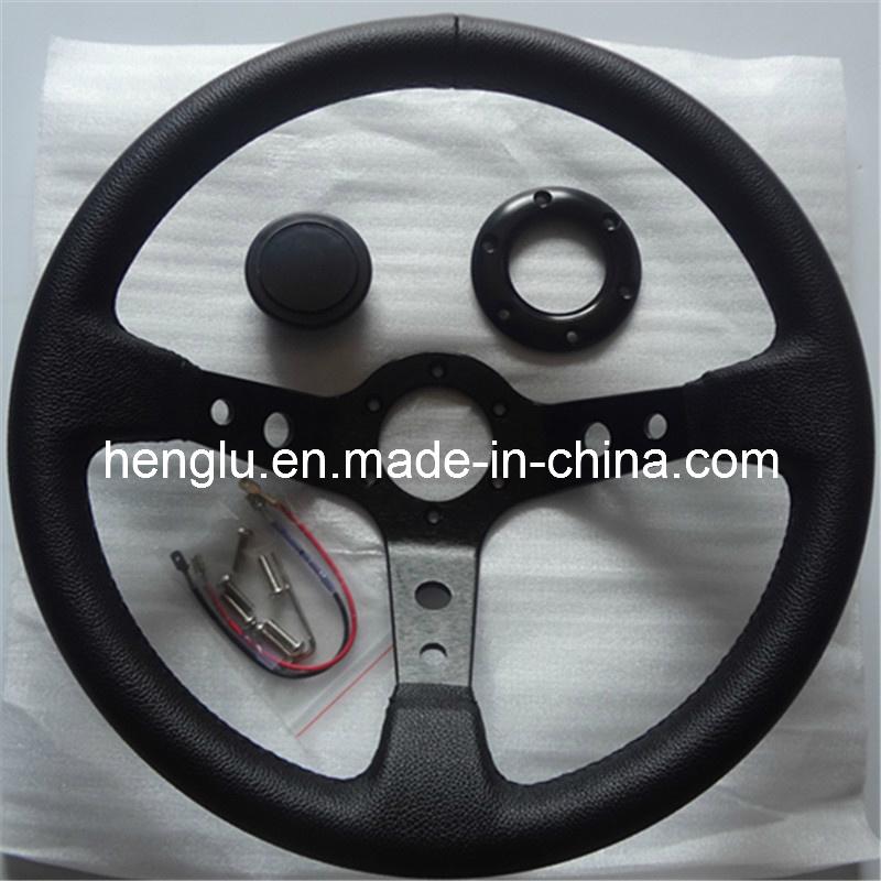 Flat Racing Auto Steering Wheel (HL1001688)