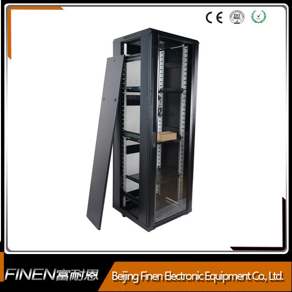A2 Free Standing Pre Assembled 42u Glass Door Network Cabinet