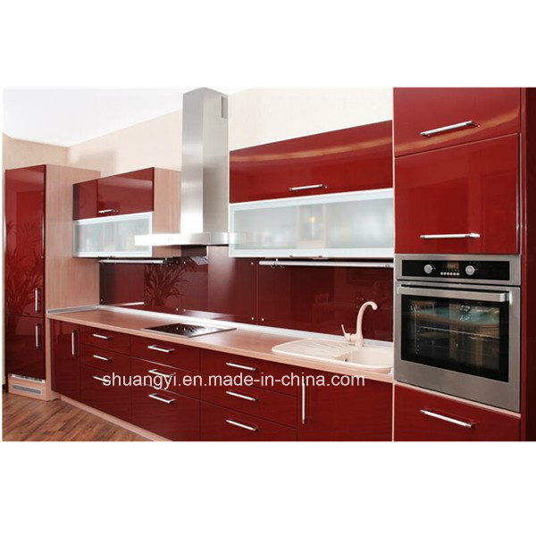 Lacquer Kitchen Door Wooden Kitchen Cabinets