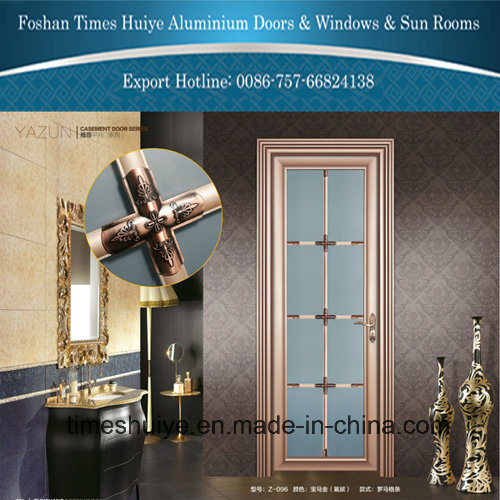 New Design and New Color Aluminum Casement Doors