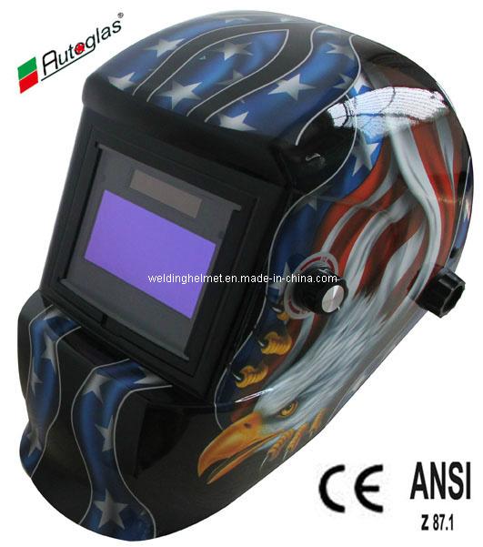 CE/ANSI, En379/9-13 Auto-Darkening Welding Helmet(G1190TF
