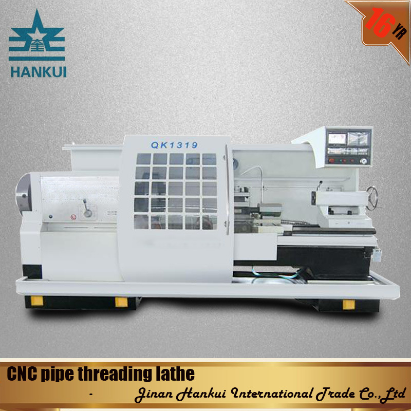 Qk1343 High Speed CNC Pipe Thread Cutting Lathe
