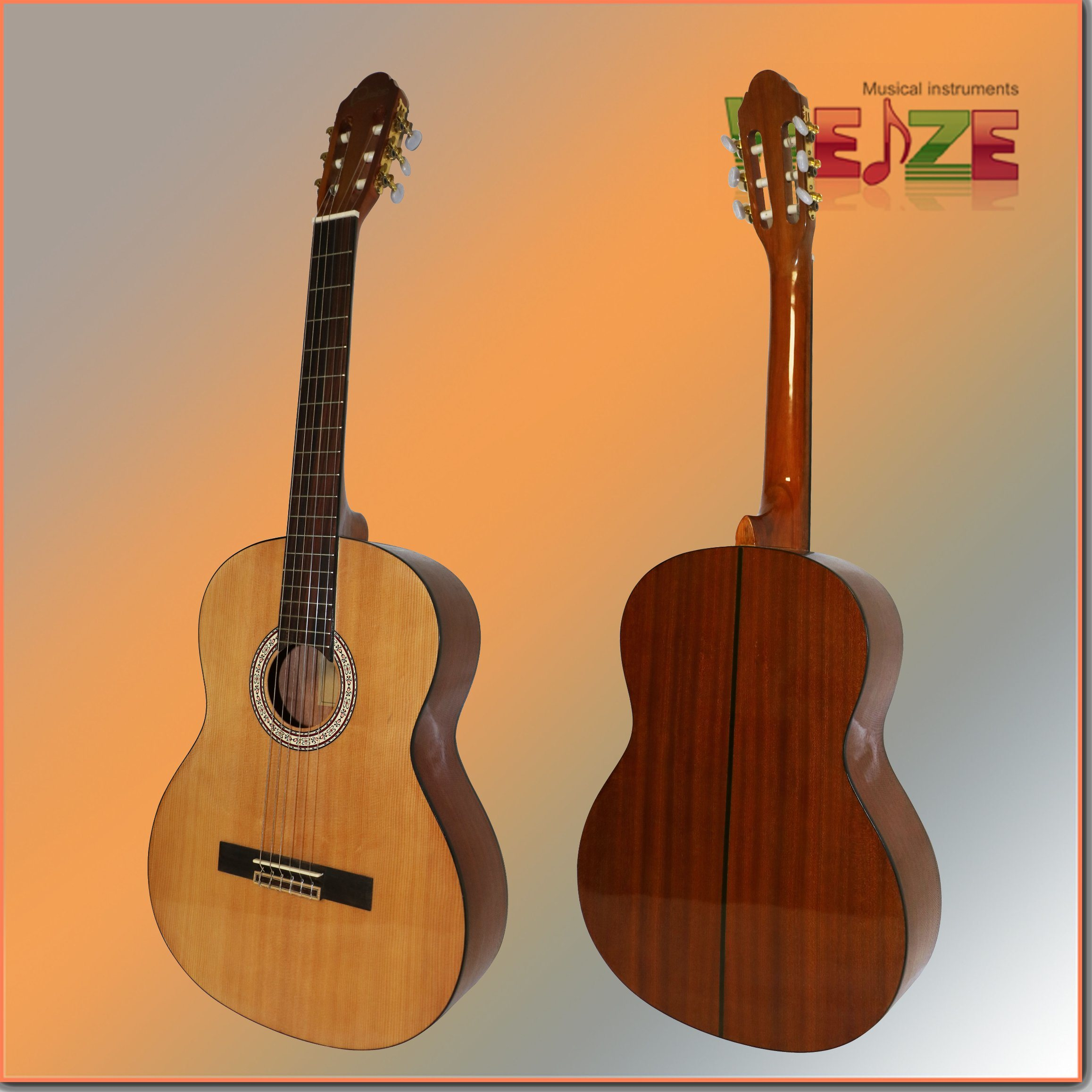 39inch Sapele Back Classical Guitar Wtih Cheap Prices