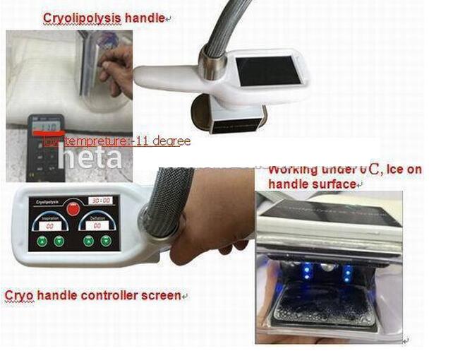 Portable 6 in 1 40k Bzl-B Vacuum Ishape III Gelex Fat Frozen H-3007c